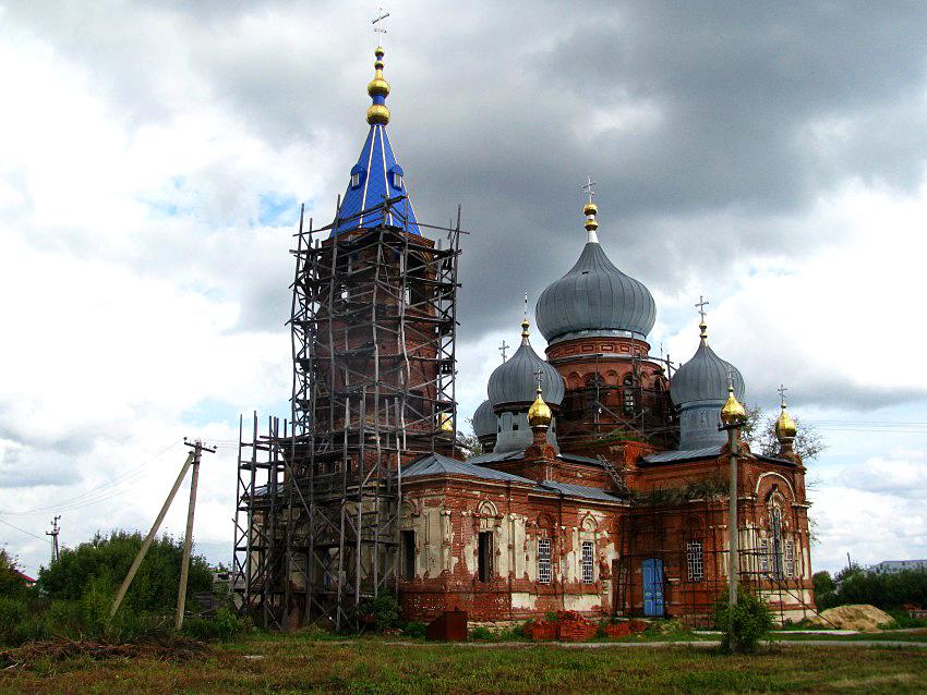 с.Грязное, Лип.область, Иоанно-Богословский храм-1